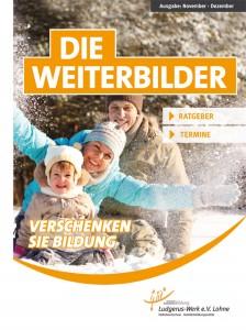 """Das Mini-Kundenmagazin """"Die Weiterbilder"""" hat eine Auflage von 12.000 und wird im gesamten Stadtgebiet Lohnes verteilt."""
