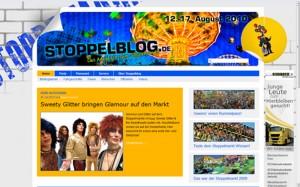 Die Startseite von Stoppelblog - Das Magazin zum Stoppelmarkt.