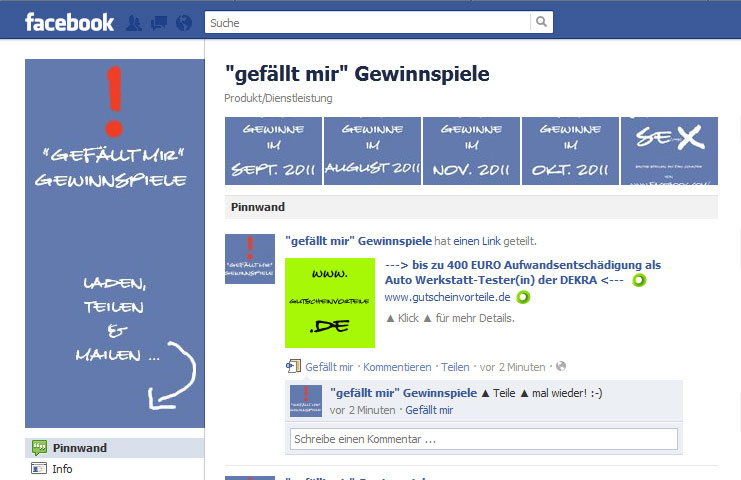 warum gewinnspiele bei facebook oft sinnlos sind freiwald kommunikation. Black Bedroom Furniture Sets. Home Design Ideas